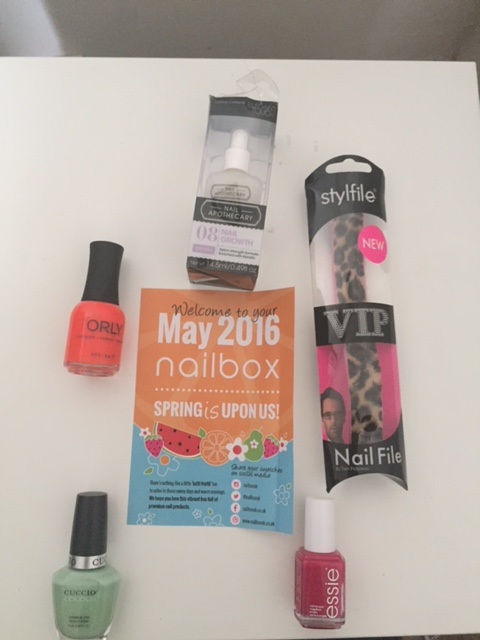Nailbox – May 2016 : Tutti Frutti