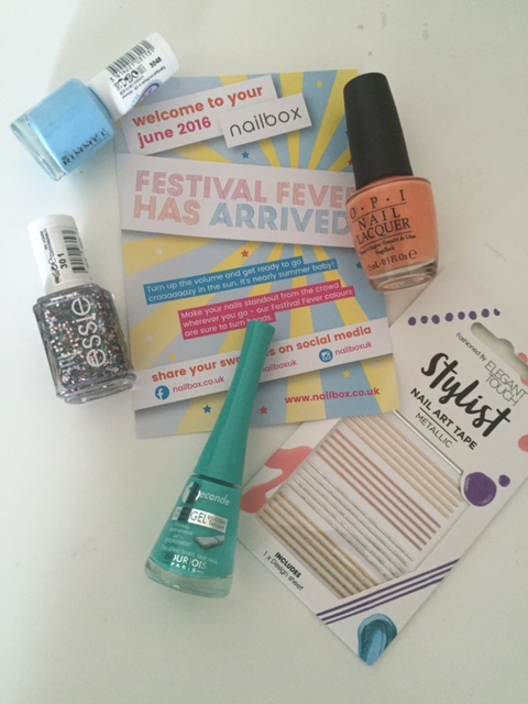 Nailbox – June 2016: Festival Fever!