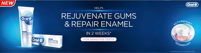 Oral-B Gum & Enamel Repair Toothpaste